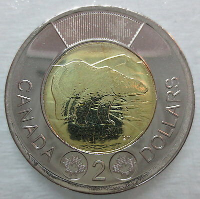 2014 Canada Toonie Brilliant Uncirculated Two Dollar Coin