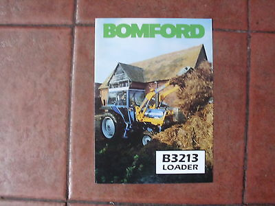 Ford Tractor Bomford Loader   Brochure  Ford 5610