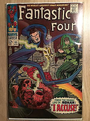 Fantastic Four #65 FN+ 6.5 First Appearance of Ronan the Accuser