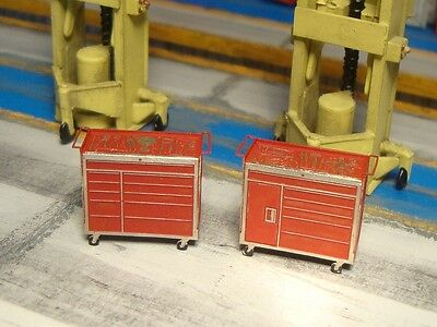 OO gauge tool chest kits for lorry bus recovery truck model train layout scenery