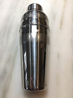 Vintage Cocktail Shaker Art Deco Style Barware Bar Mixed Drink SS Goose