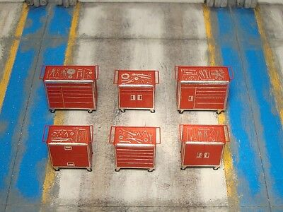 OO gauge tool chest kits for hornby peco engine shed model train layout scenery