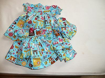 Sasha Toddler/baby Dresses/panties By Diane's Delights
