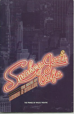 Smoky Joe's Cafe: The Songs Of Leiber & Stoller Theatre Programme