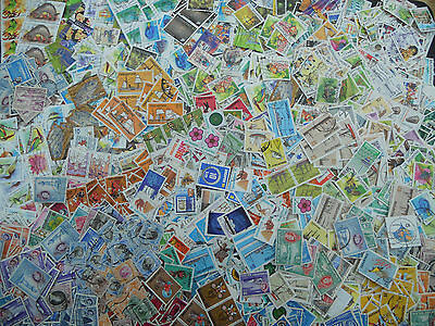 Singapore stamps approx 250 gms off paper kiloware 100's