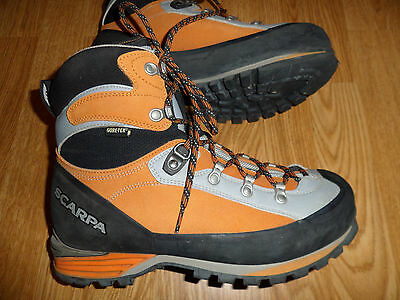 Scarpa Triolet Gore-Tex Mountaineering Boots Women's 9 Men's 8 M Euro 41 $380