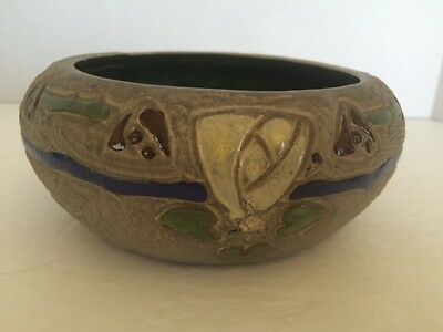 Vintage Roseville Mostique Early Arts and Craft Bowl, Dish or Planter 5 3/4""