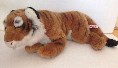 FAO Toys R Us Tiger Cat Stuffed Plush Animal Toy 22""
