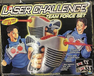 Toymax Laser Force Tag Game Electronic Vintage Rare Retro 1996