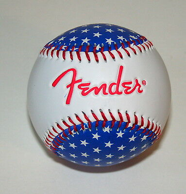 Fender Guitar Music Promo Baseball Autograph Ball NOS New Old Stock