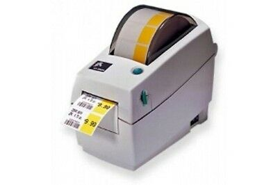 "Zebra LP 2824 Legacy 2"" Barcode & Label Printer w/ power supply & serial cable"