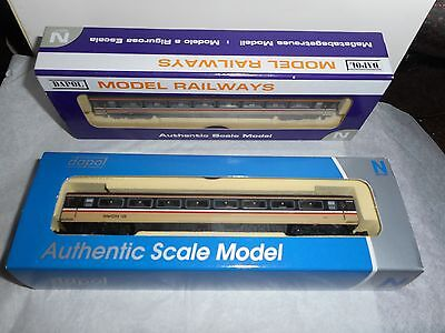 N Gauge coaches 4 Dapol HST Intercity coaches