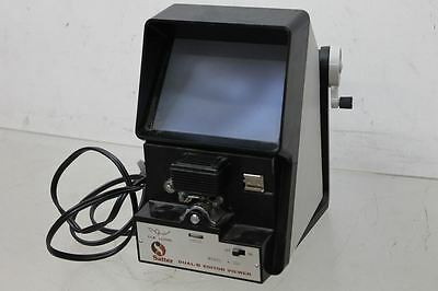 SATTER Dual Deluxe 8 Movie Editor Viewer for Super 8mm, Reg 8mm, & Dual 8mm 120V