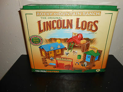 Lincoln Logs Rocky Mountain Ranch Set Up