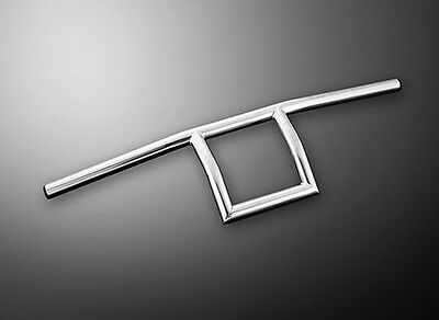 7/8 INCH (22mm) Chrome Handlebars T-Bar Style for Custom Motorcycles (55-221)