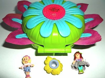 POLLY POCKET Vintage1997 totally flowers Boutique almost 100% Complete