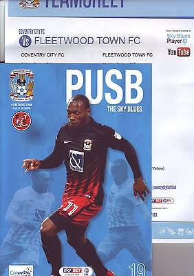 Coventry City v Fleetwood Town 2016-17