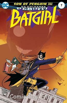 Batgirl #7 (2017) 1St Printing Bagged & Boarded Dc Universe Rebirth