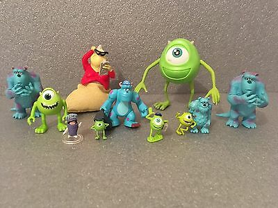 Monsters Inc / University Mike, Sully, Roz Figures - Disney Pixar Cake Toppers