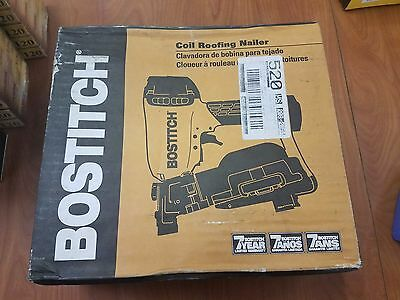 "Bostitch RN46-1 1-3/4"" To 1-3/4"" Coil Roofing Nailer - NEW"