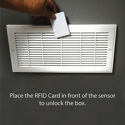 Easy Install Hidden Compartment Vent Safe RFID In-thee-Wall Safe