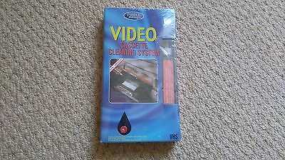 Video Cassette Cleaning System - Sealed & Unused