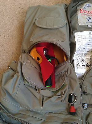 Englands Doctors Fly fishing Waistcoat Lifejacket