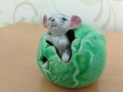 Vintage Mouse Figurine. Made in Japan