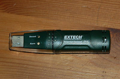 Extech TH10 Temperature USB Datalogger - 32 000 readings, Programmeable
