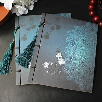 Retro Book Stationery Thread-bound Diary Notepad Journal Sketch Blank Notebook