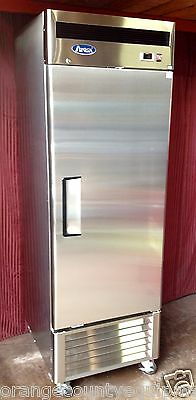 NEW 1 Door Reach In Freezer Commercial Stainless Steel Atosa MBF8501 NSF #1821