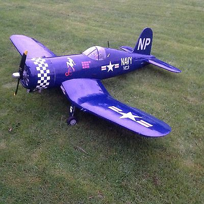 Black Horse Corsair 50-62cc Giant Scale Lado retracts 2310mm wingspan