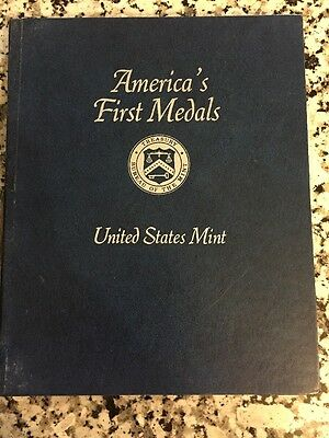America's First Medals 11 Pewter Medals Plus The Book