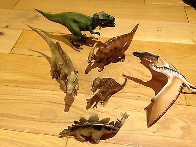 Schleich Dinosaur Collection Including Pterodactyl