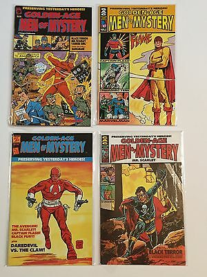 AC Comics Golden Age Men of Mystery lot