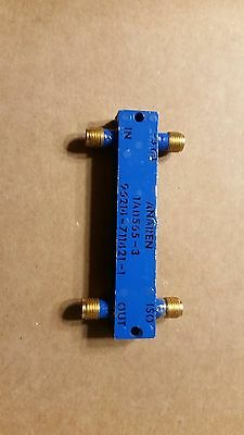 Anaren 1A0565-3 Quadrature Hybrid Coupler, 3dB, 1-2GHz, SMA MANY Available