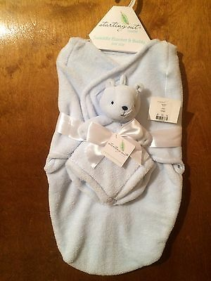 Starting Out Swaddle Layette Light Blue New With Buddy Set