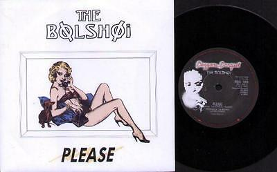 "BOLSHOI Please  7"" Ps, B/W West Of London Town, Beg 189"