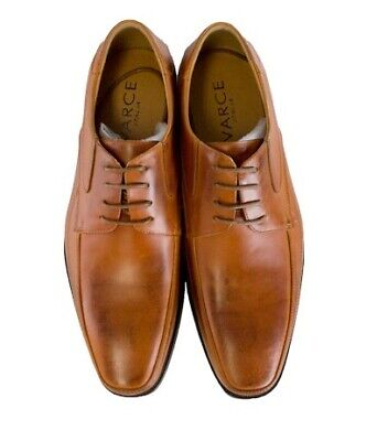 Men's Formal Lace Up Tan Leather Dress Shoes By Varce (Dylan)