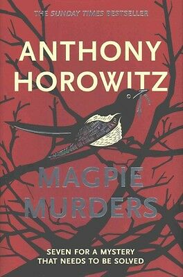 Magpie Murders by Anthony Horowitz Hardcover Book