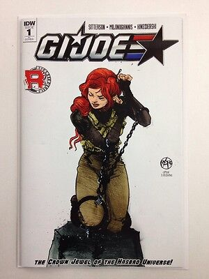 G.i. Joe #1 1:50 Paul Pope Incentive Variant Cover First Print Idw Publishing Nm