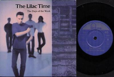 """LILAC TIME The Days Of The Week  7"""" Ps, B/W The Queen Of Heartless"""