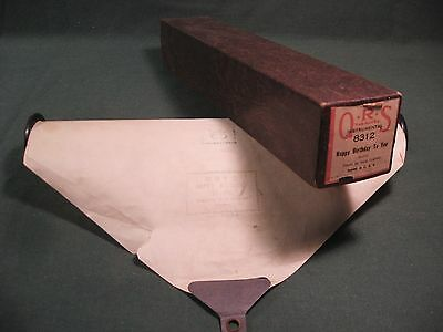 """Vintage Q.r.s. Piano Roll 8312 """"happy Birthday To You"""" Medley Erlebach"""