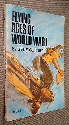 Book - Flying Aces of World War One by Gene Gurney 1973 2nd Printing