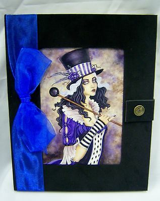 Calliope Fairy Journal Black Velvet Blank Pages Amy Brown