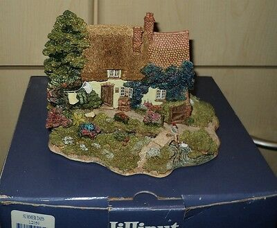 Lilliput Lane Summer Days. 1997 Anniversary Cottage.