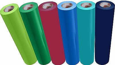 "ORACAL 651 or 631 VINYL SHEETS 12"" x 10 Feet Roll Assorted Colors to Choose From"