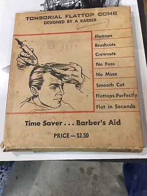 Tonsorial Flattop Comb In Original Package