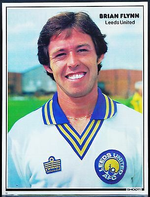 Football Player Picture Brian Flynn Leeds United Shoot