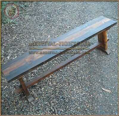 Medieval bench for historical encampments and reenactors